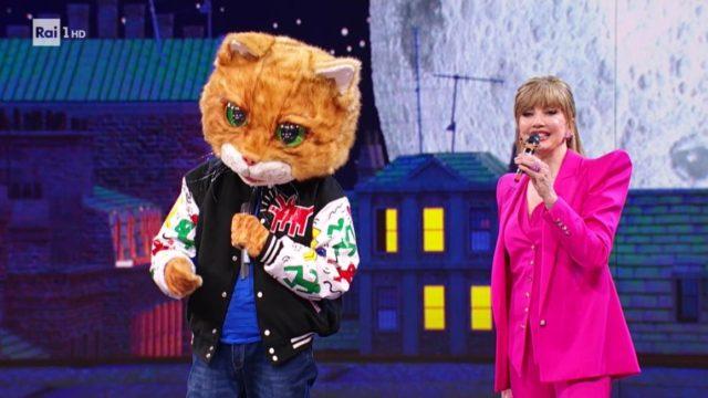 Il cantante mascherato 5 febbraio gatto