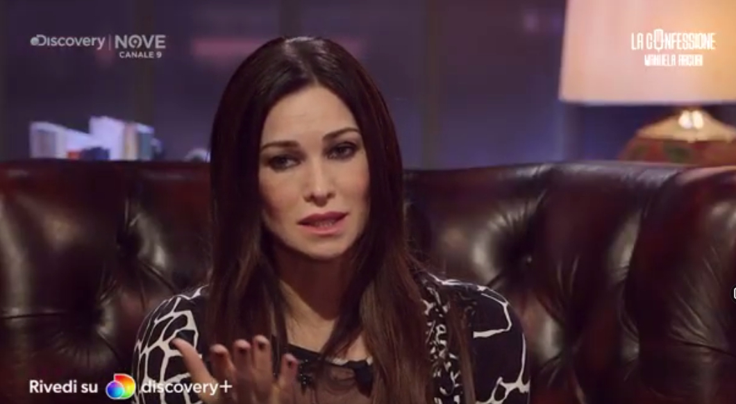 La Confessione 12 febbraio Manuela Arcuri