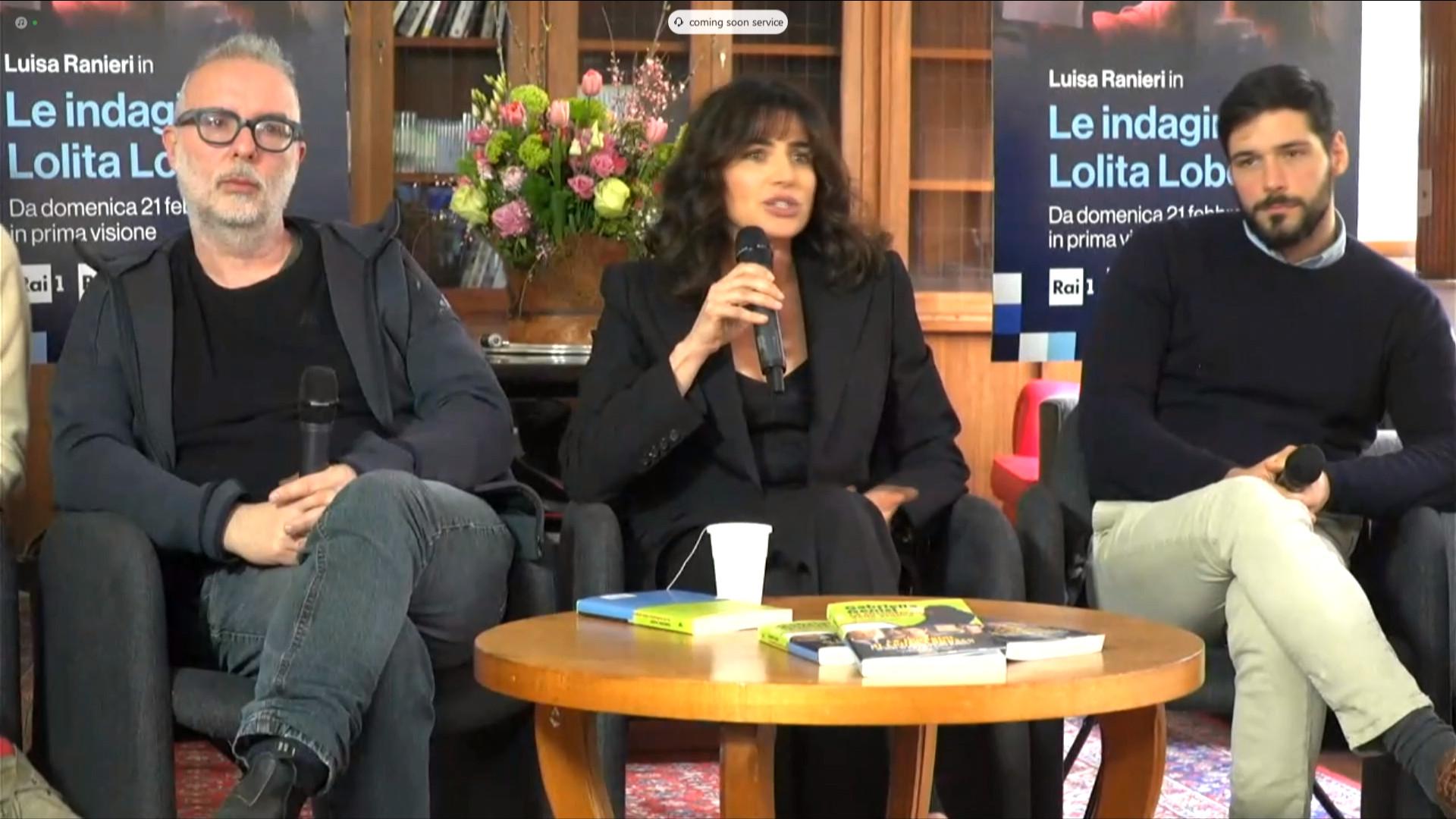 Le indagini di Lolita Lobosco conferenza stampa