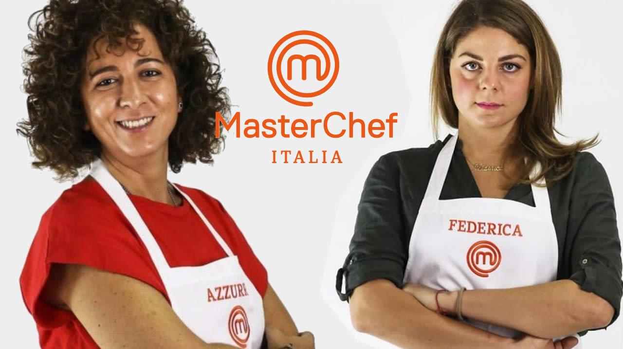 MasterChef Italia 10 Azzurra e Federica interviste
