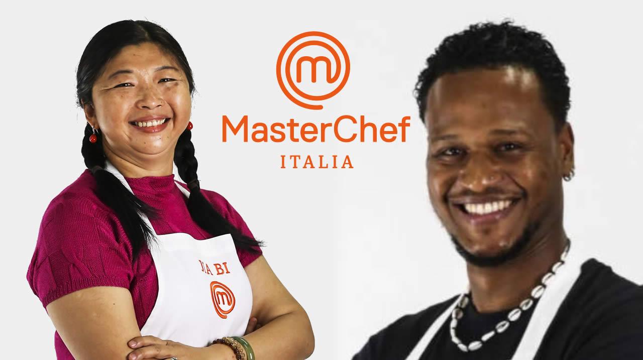 MasterChef Italia 10 Jia Bi e Eduard Alcantara