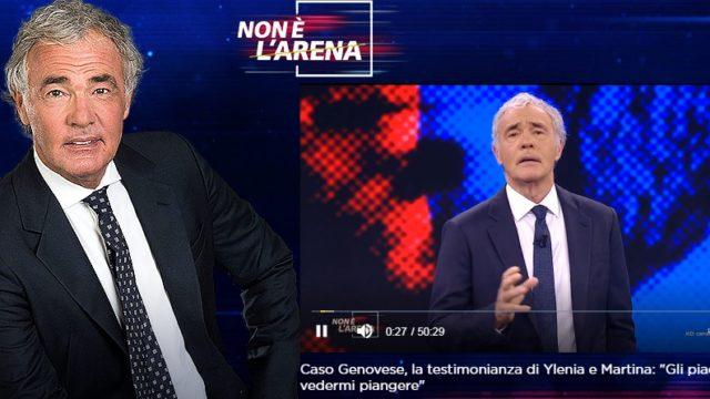 Non è L'Arena 14 febbraio Massimo Giletti