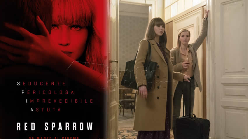 Red Sparrow film Italia 1