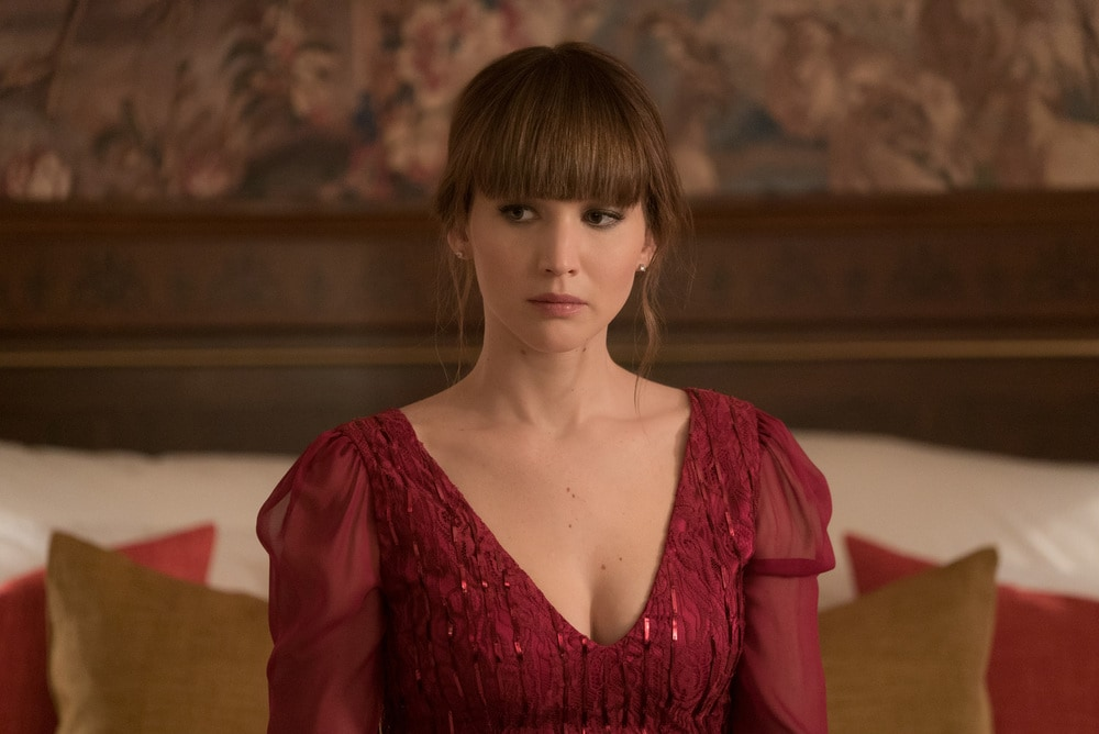 Red Sparrow film attori