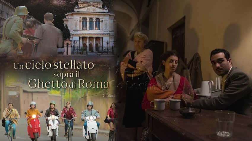 Un cielo stellato sopra il Ghetto di Roma film Rai 1