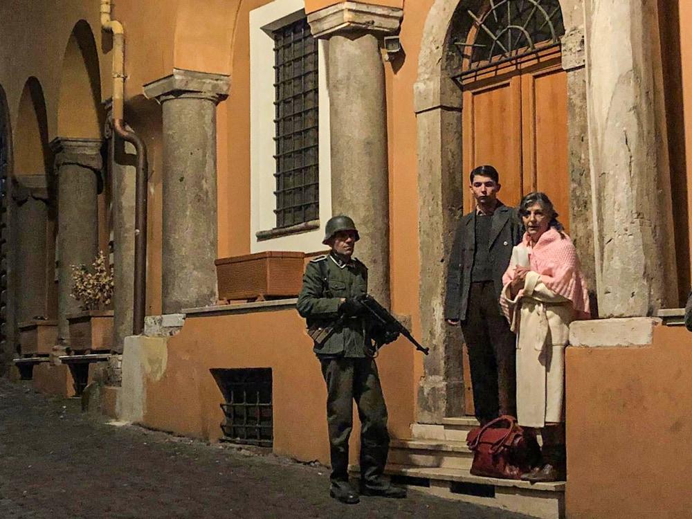 Un cielo stellato sopra il Ghetto di Roma film attori