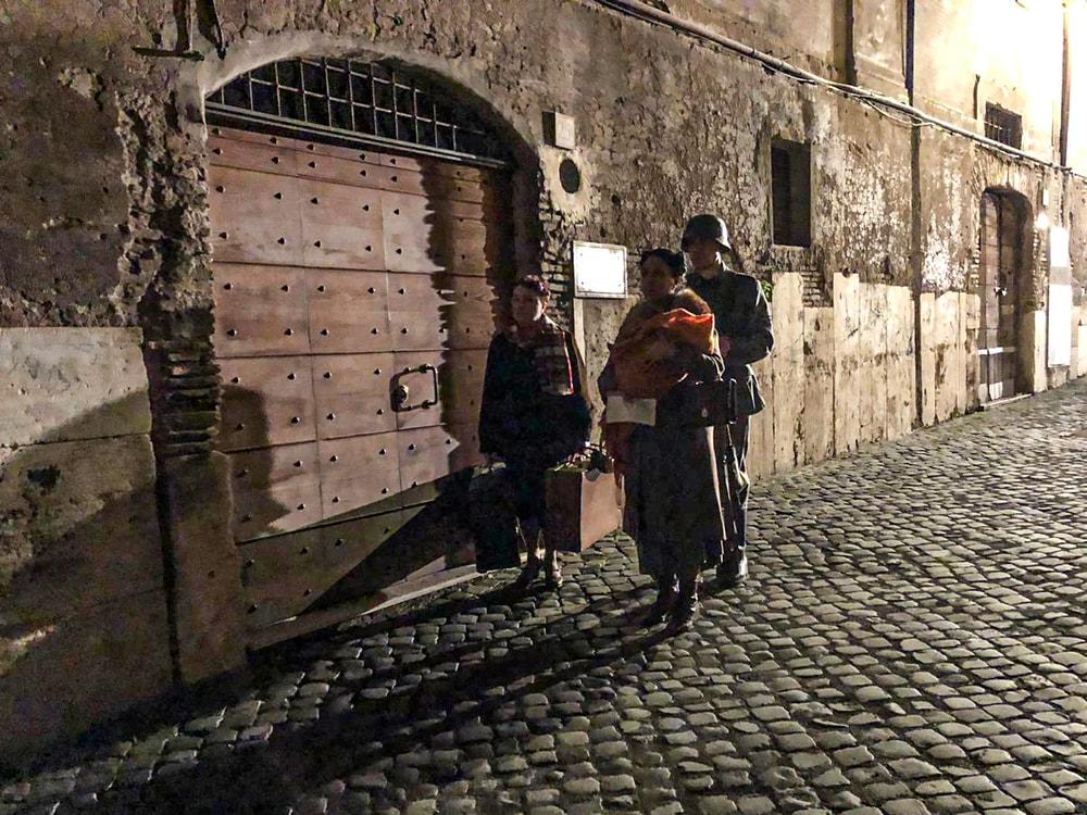 Un cielo stellato sopra il Ghetto di Roma film finale