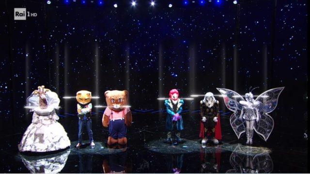 il cantante mascherato gruppo