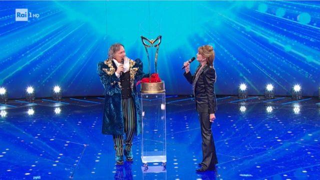 il cantante mascherato pappagallo vincitore trofeo