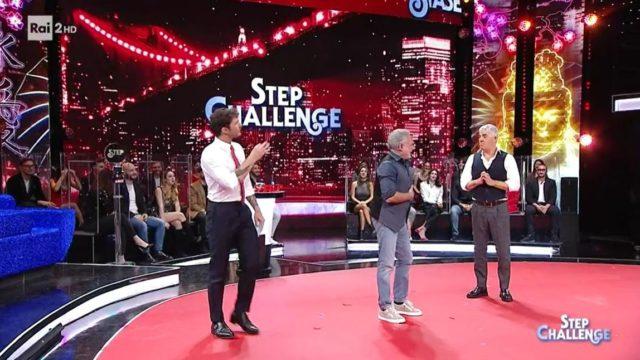 stasera tutto è possibile 2 febbraio step challenge