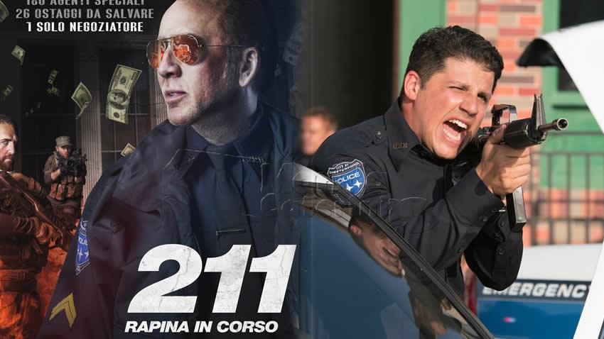 211 Rapina in corso film Rai 2