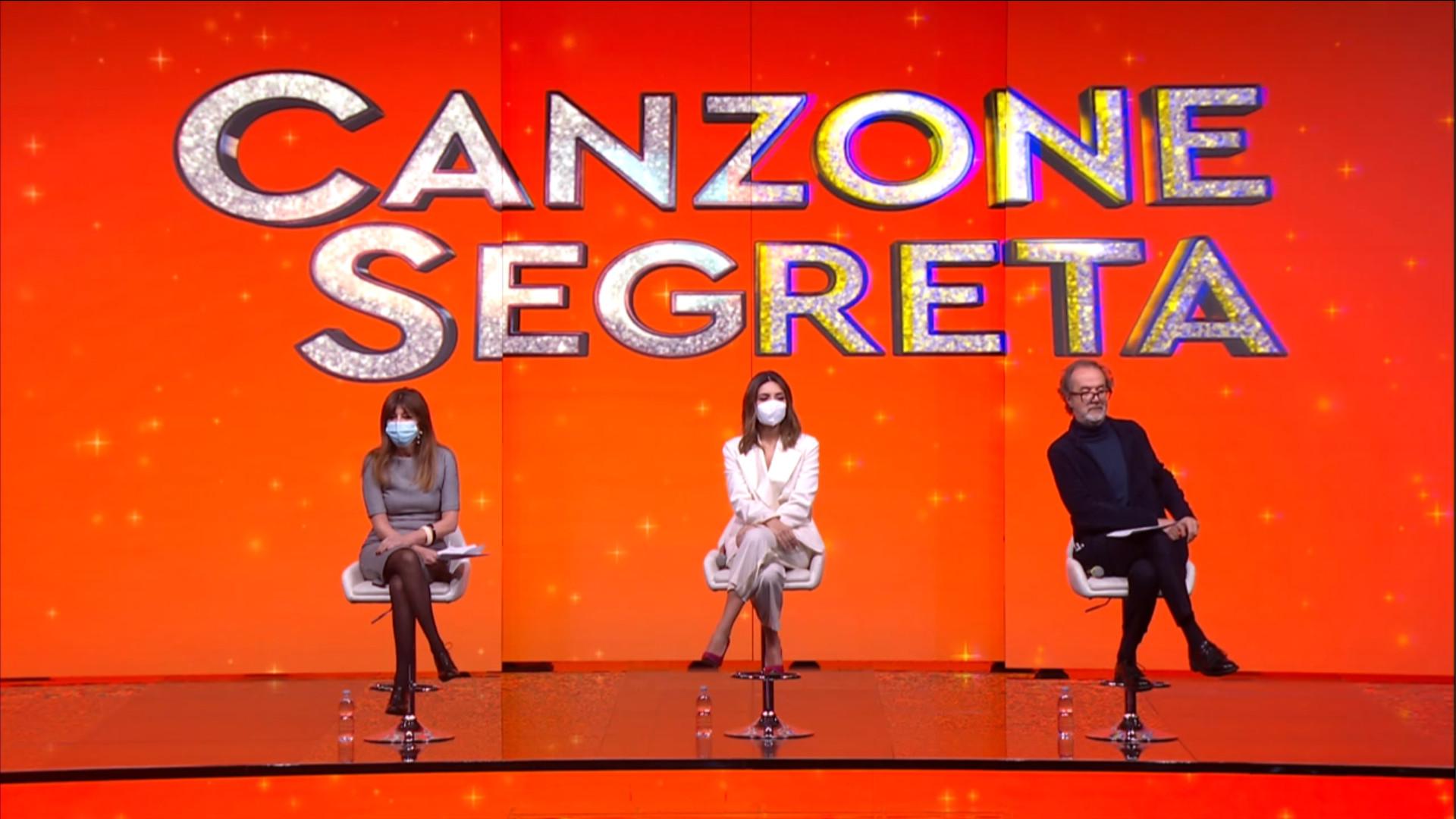 Canzone Segreta conferenza stampa