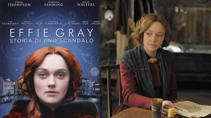 Effie Gray Storia di uno scandalo film Iris