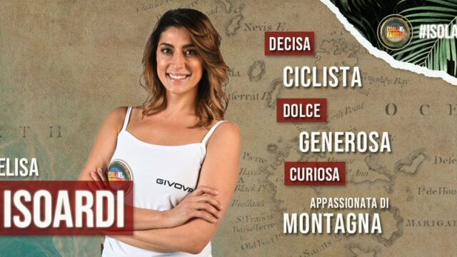 Isola dei famosi 2021 concorrenti Elisa Isoardi