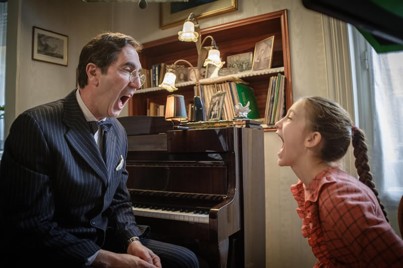 La bambina che non voleva cantare commenti