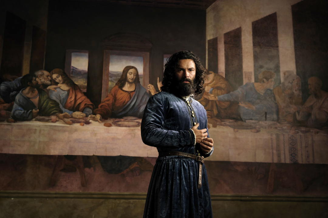 Leonardo serie tv personaggi Aidan Turner