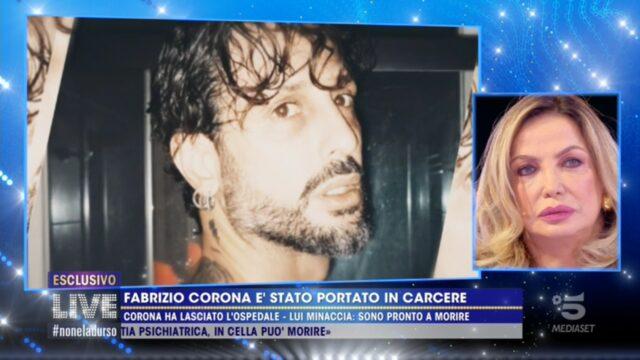 Live non è la D Urso Fabrizio Corona