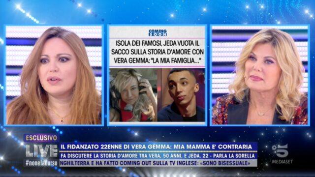 Live non è la D Urso 28 marzo Vera Gemma