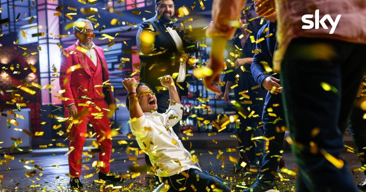 MasterChef Italia 10 Francesco Aquila vincitore