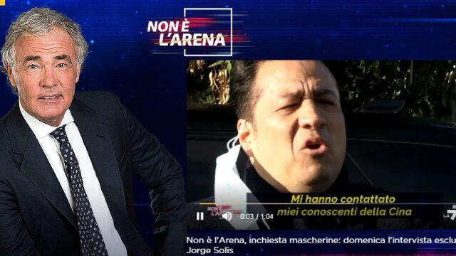 Non è L'Arena 21 marzo caso Benotti
