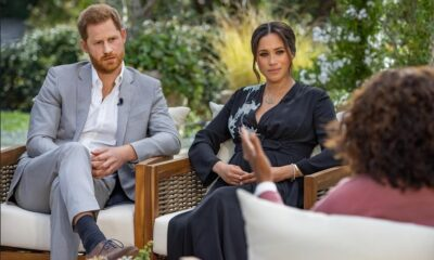 Oprah with Harry and Meghan -