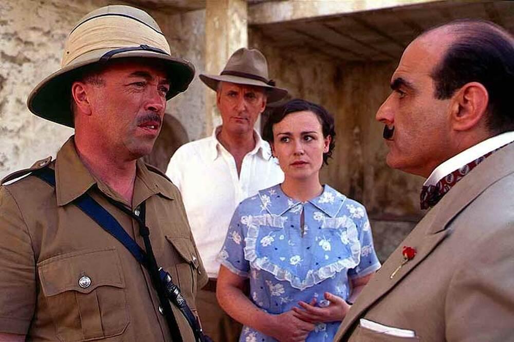 Poirot Assassinio in Mesopotamia film dove è girato