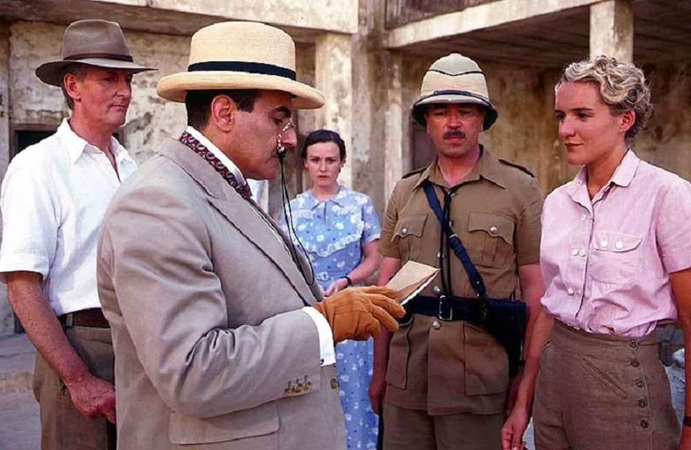 Poirot Assassinio in Mesopotamia film finale