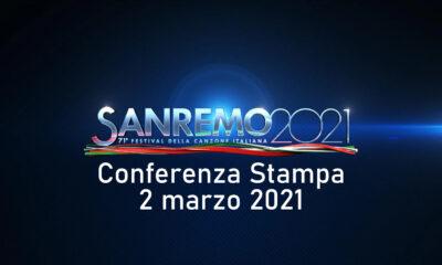 Sanremo 2021 conferenza stampa 2 marzo
