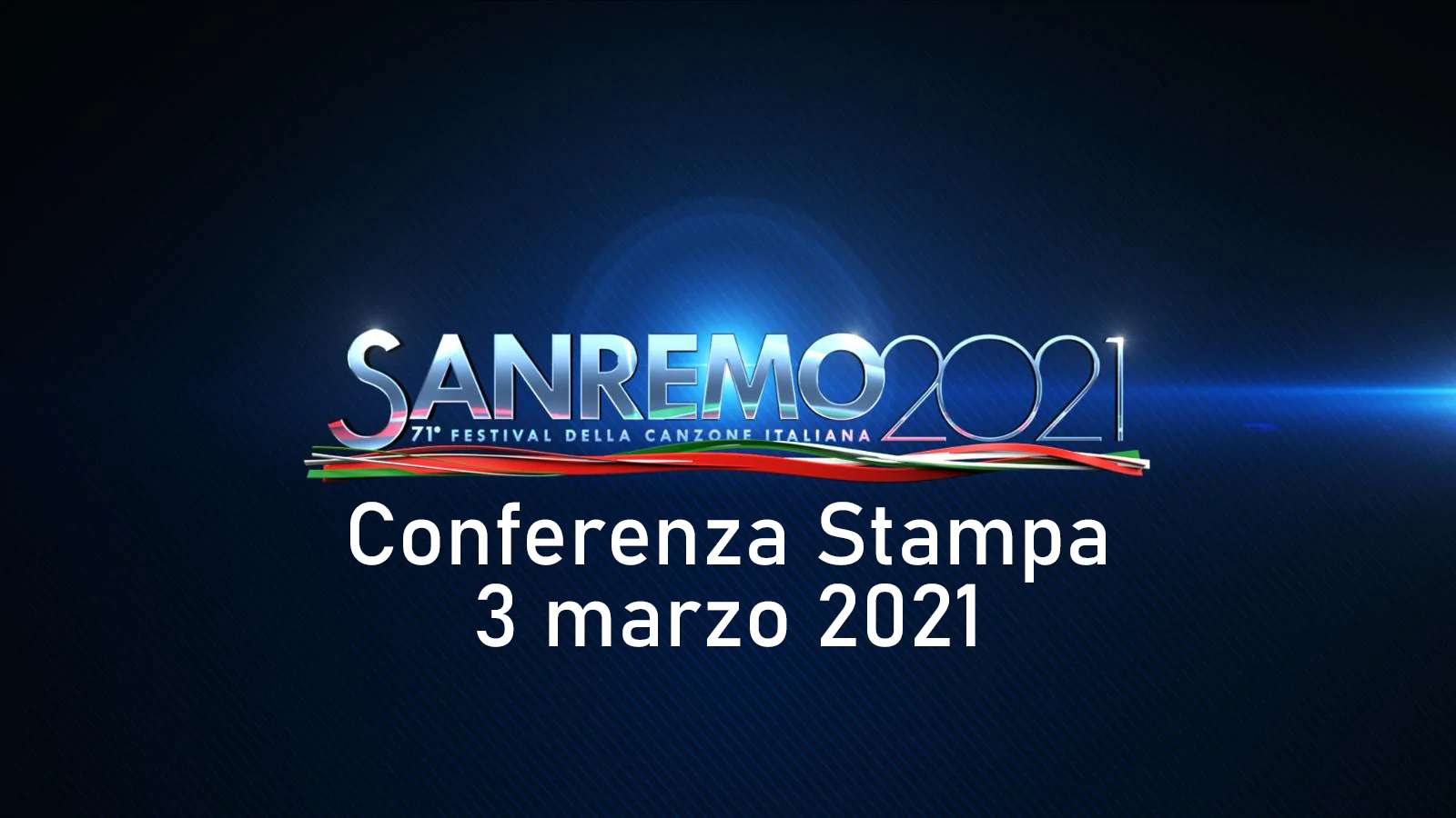 Sanremo 2021 conferenza stampa 3 marzo