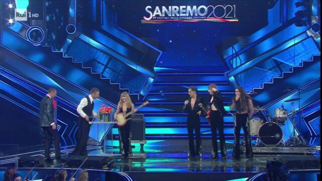 Sanremo 2021 Maneskin