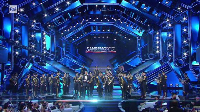 Sanremo 2021 diretta 6 marzo Banda Marina