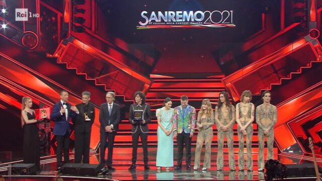 Sanremo 2021 diretta 6 marzo podio