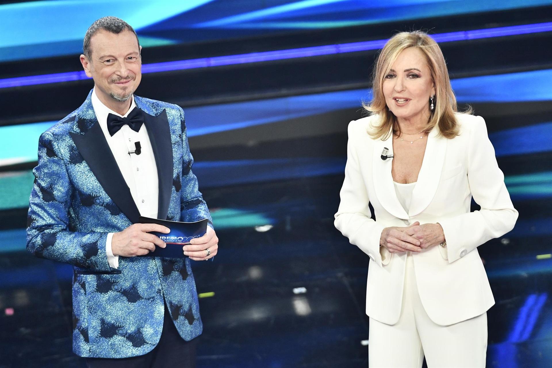 Sanremo 2021 recensione quarta serata Barbara Palombelli