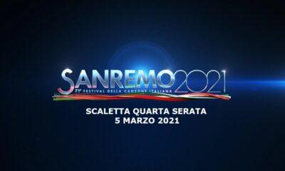 Sanremo 2021 scaletta 5 marzo 2021