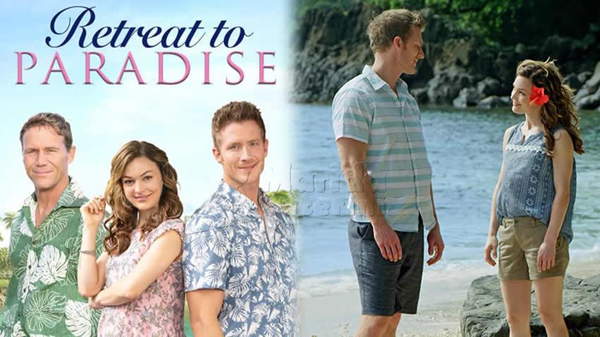 Un'oasi di paradiso film Tv8