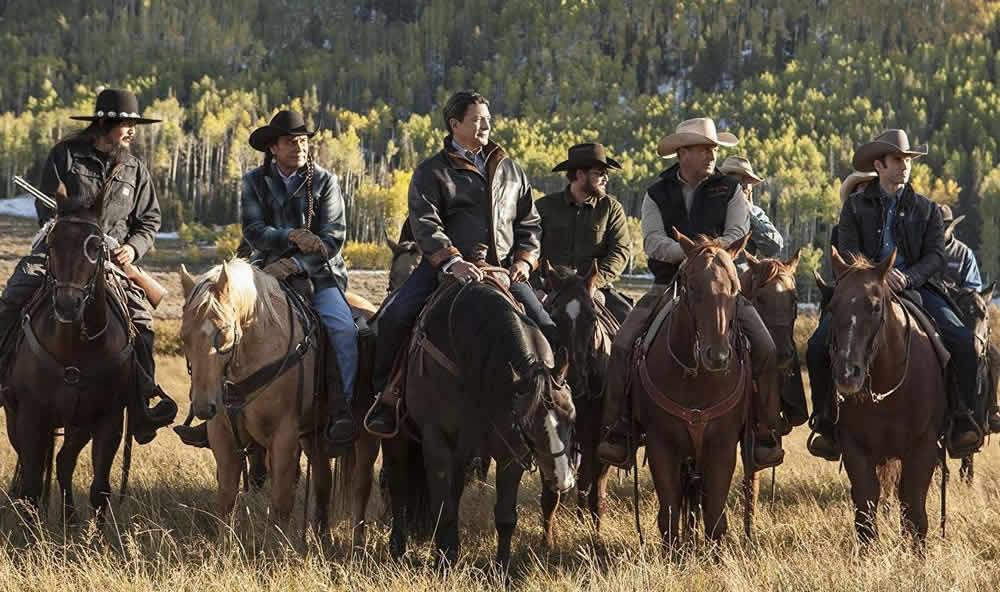Yellowstone serie tv dove è girato
