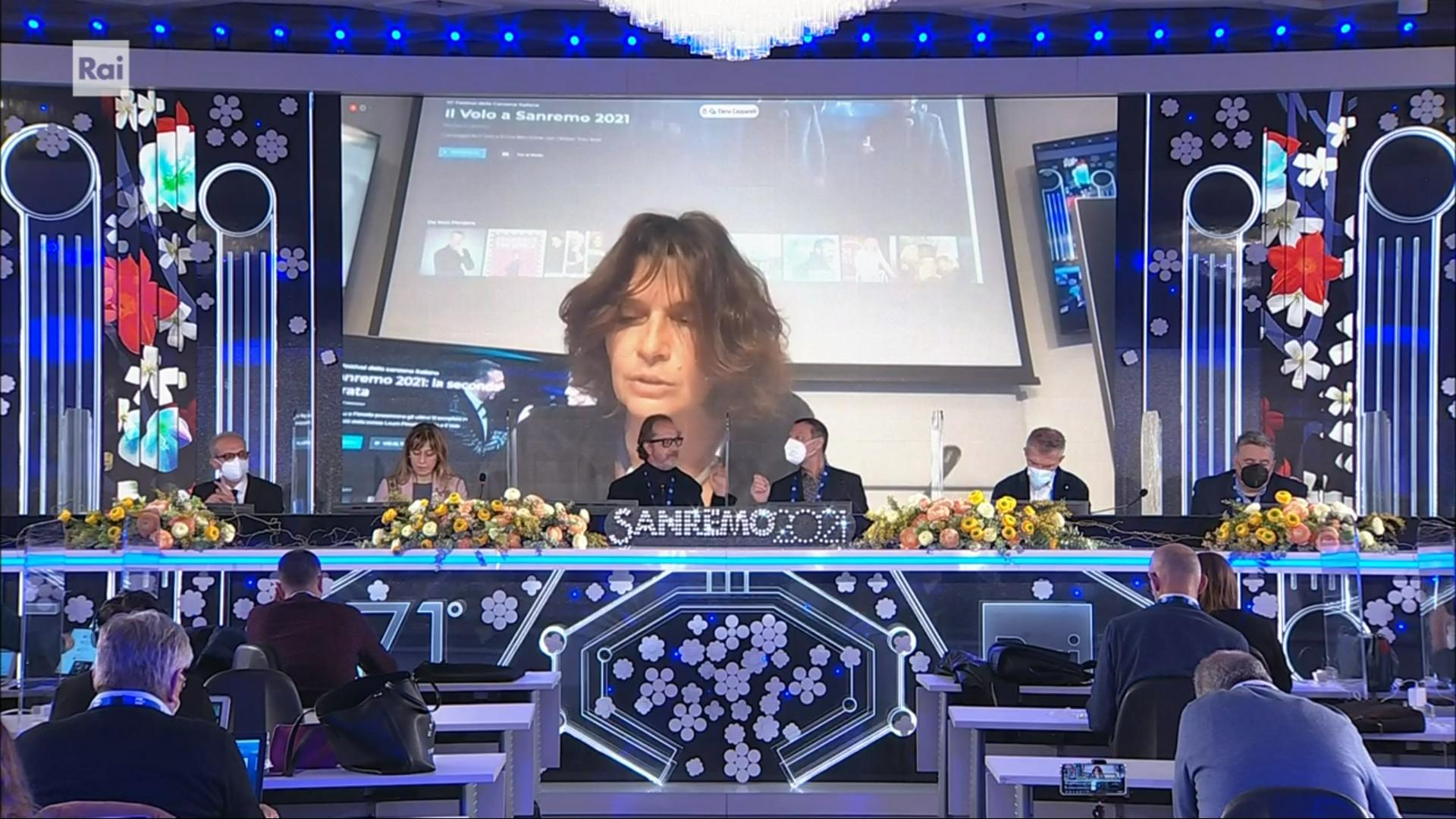 Sanremo 2021 conferenza stampa 4 marzo