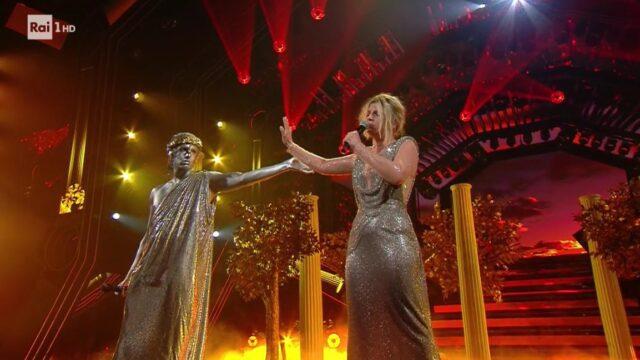 terza serata Sanremo 2021 Achille Lauro