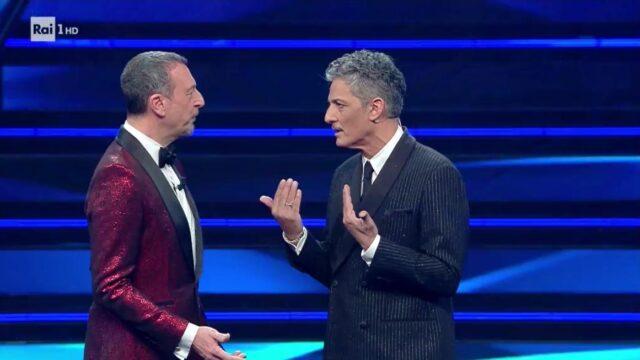 Sanremo 2021 Amadeus e Fiorello