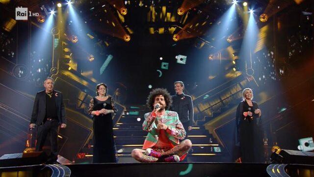 terza serata Sanremo 2021 Gio Evan