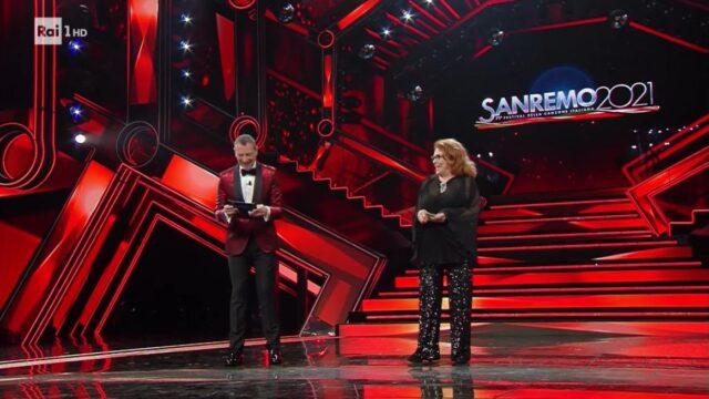 Sanremo 2021 Valeria Fabrizi