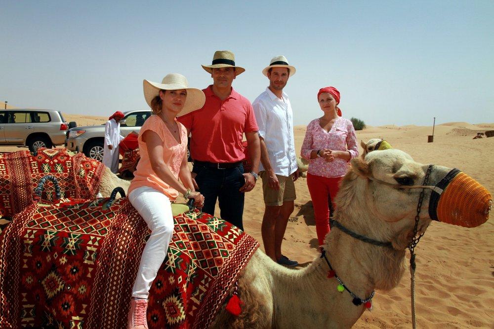 Crociere di nozze Dubai film attori