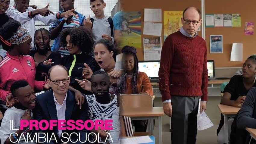 Il professore cambia scuola film Rai 3
