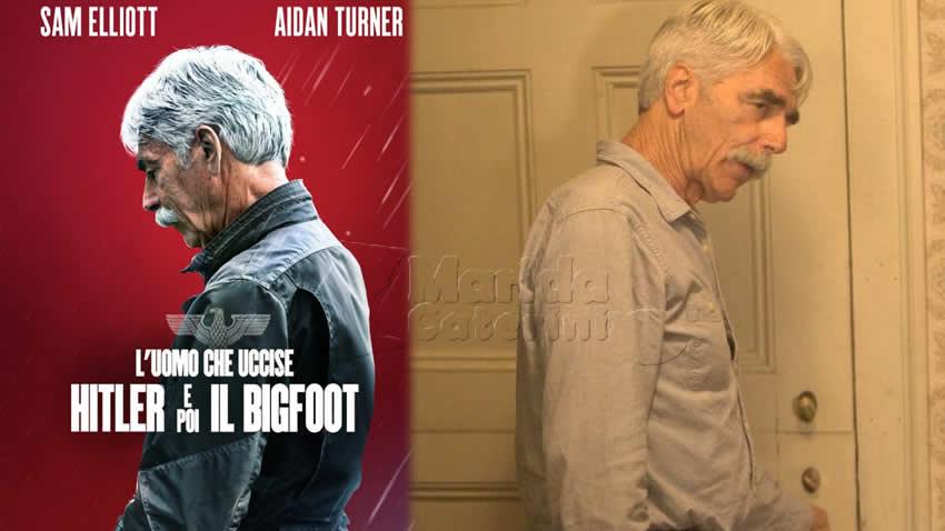 L'uomo che uccise Hitler e poi il Bigfoot film Rai 4