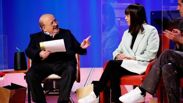 Maurizio Costanzo Show 14 aprile Malika Chalhy