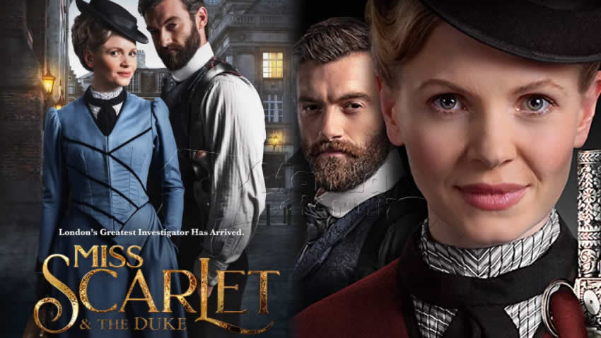 Miss Scarlet and The Duke serie tv Rai 4