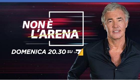 Non è L'Arena 25 aprile Massimo Giletti