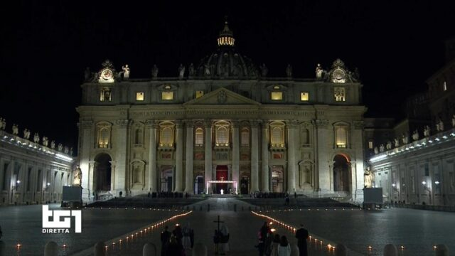 Via Crucis 2021 San Pietro