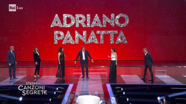 canzone segreta ospiti Adriano Panatta