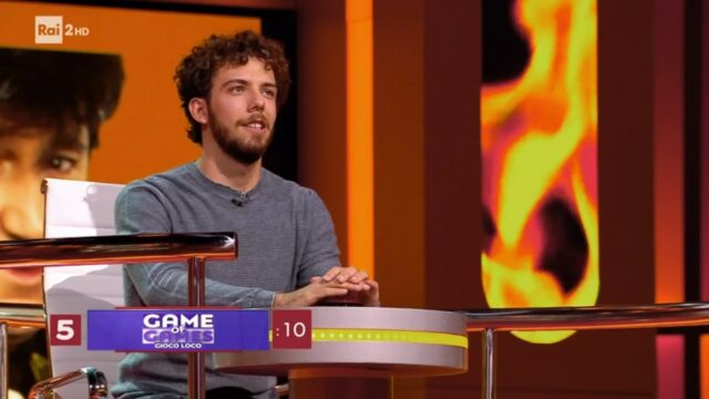 game of games 7 aprile Marco campione